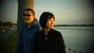 父娘の写真